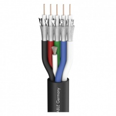 Sommer SC Transit 5 HD;video kabel  1 x 0,60/2,80; PVC Ø 13,80 mm; czarny (600-0851-5)