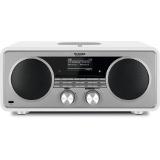 TechniSat DigitRadio 601W- CD   Radio FM , DAB+, streaming , internetowe , WiFi, odtwarzacz CD, wejście USB, bezprzewodowe ładowanie smartfonów NFC , kolor biały